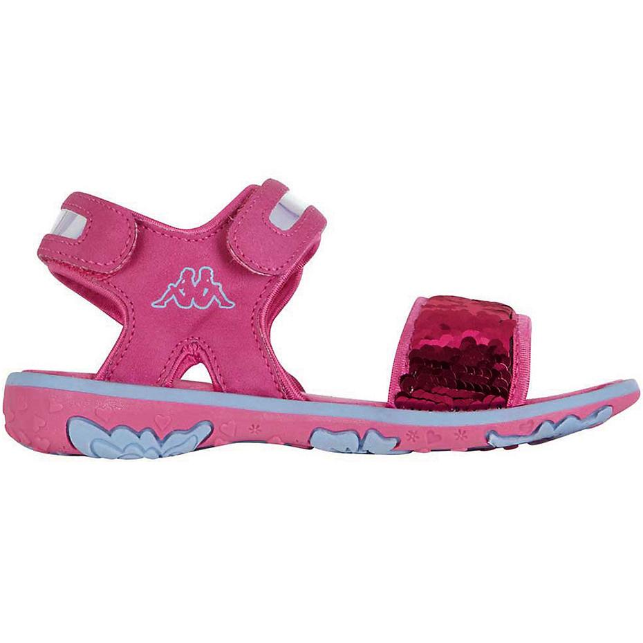 Sandale Kappa Seaqueen K Footwear roz-albastru 260767K 2260 copii pentru Copii