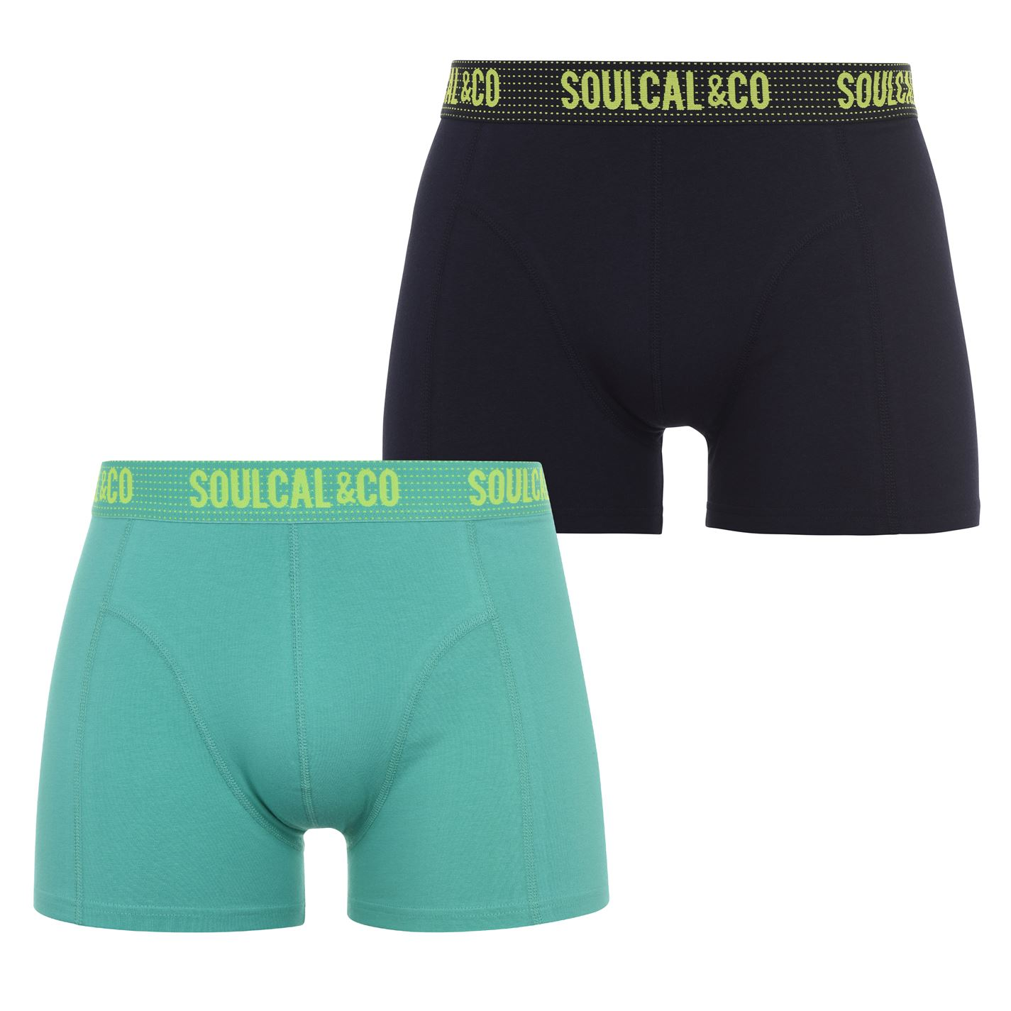 Mergi la Boxeri Set 2 SoulCal menta night sky