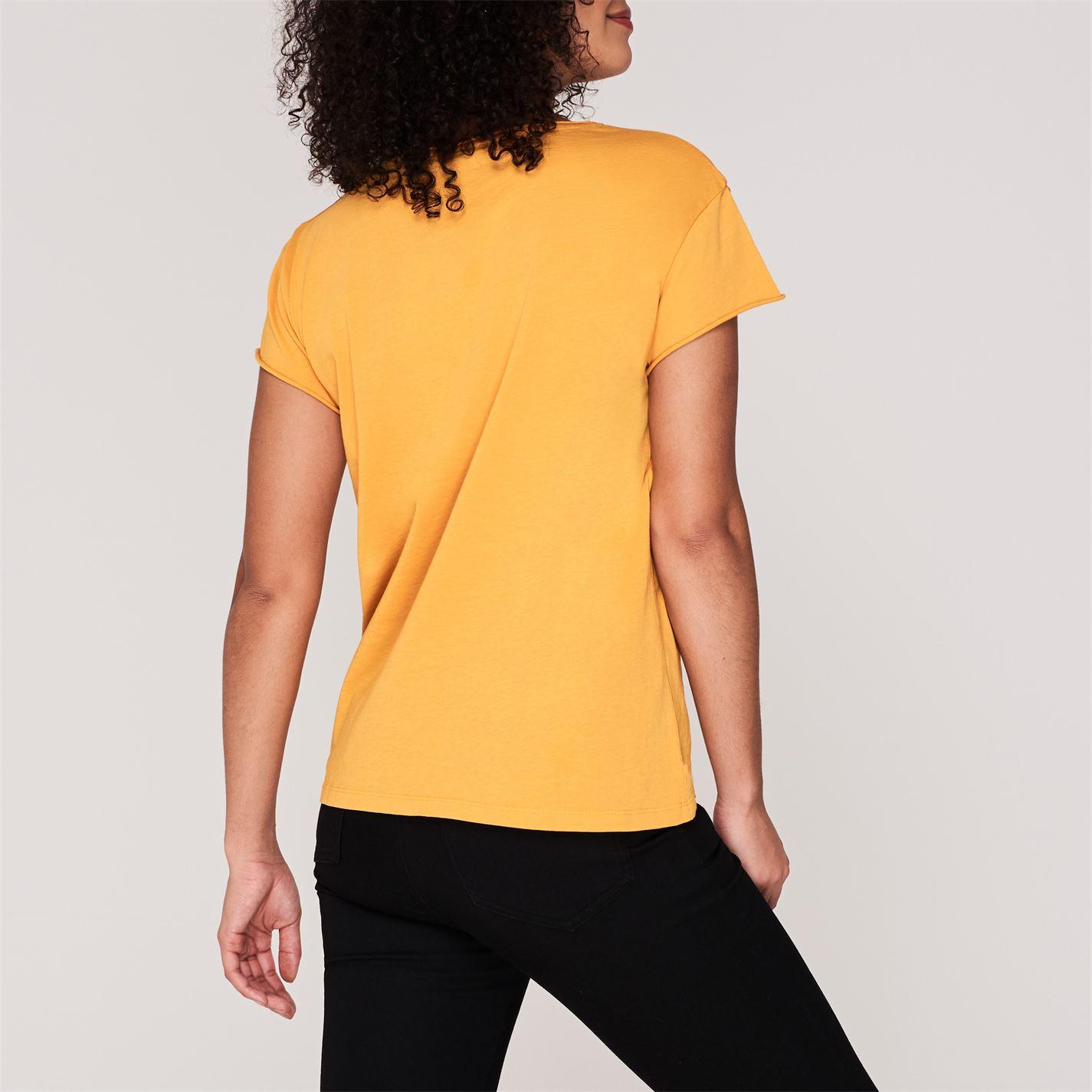 Set Tricou galben