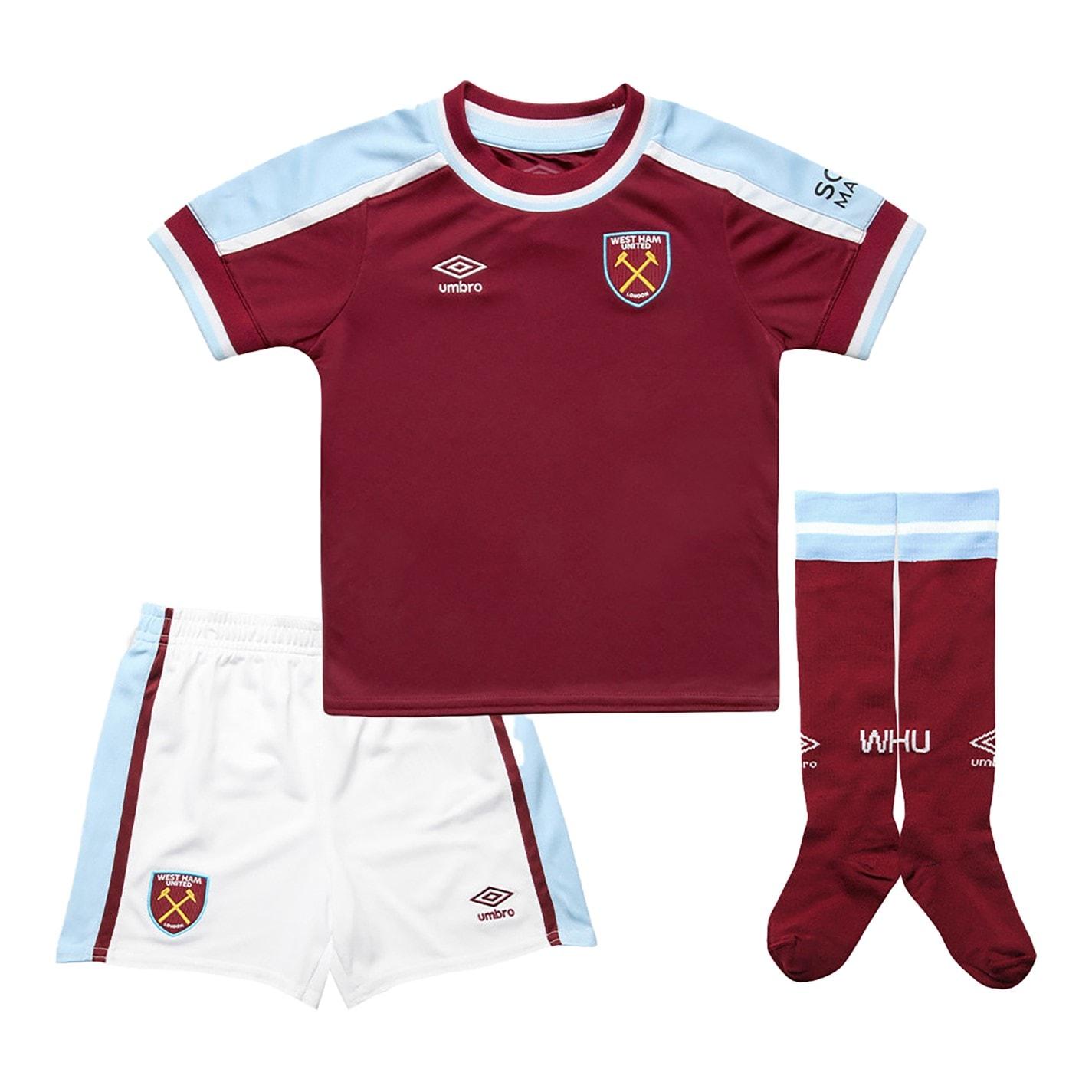 Set Umbro West Ham United Acasa 2021 2022 visiniu albastru