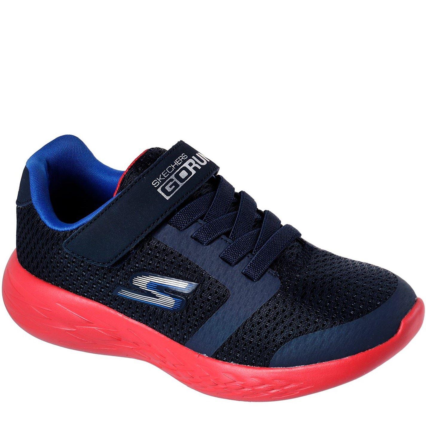Adidasi Skechers GoRun Adidasi sport 600 pentru Bebelusi bleumarin rosu