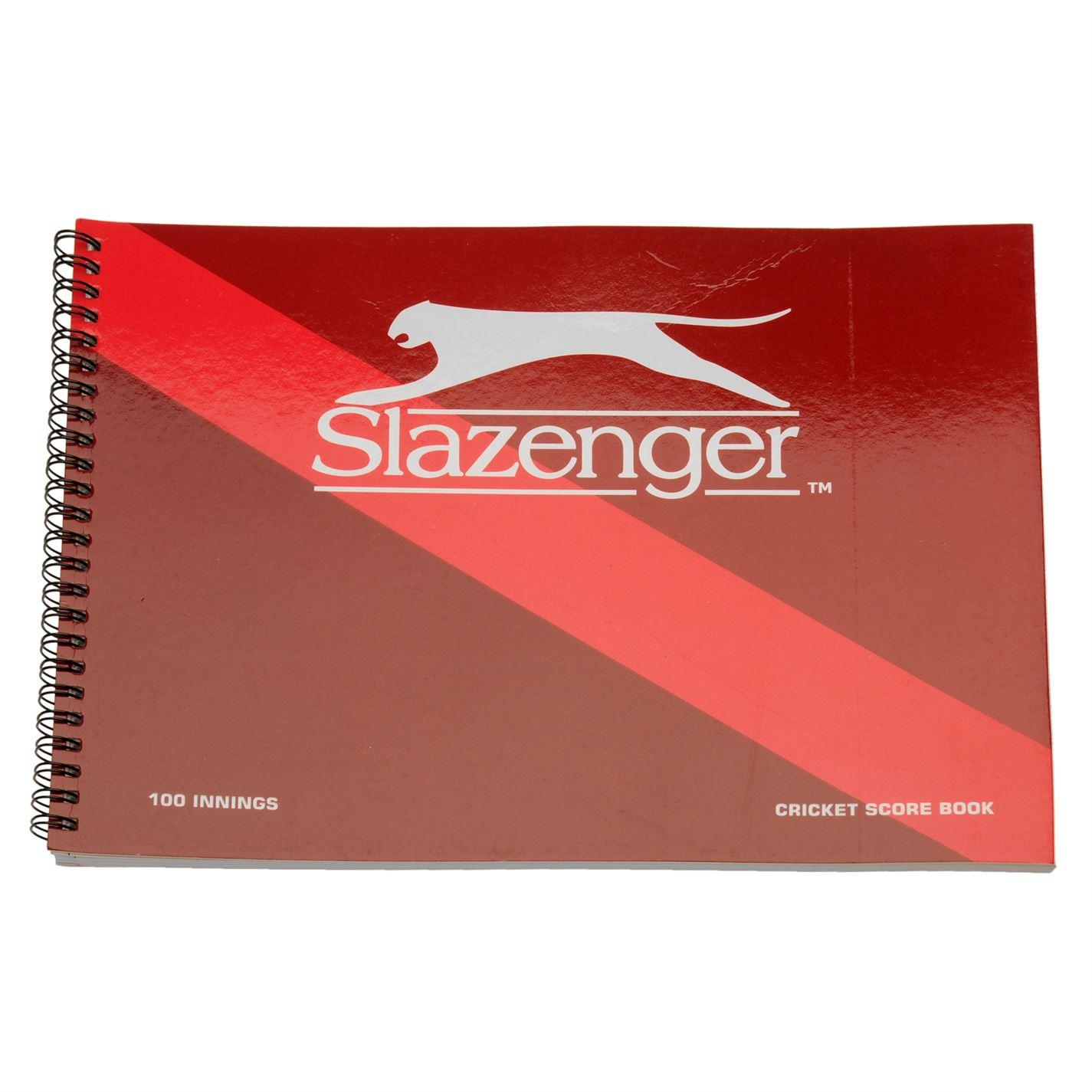 Slazenger Cricket Scorebook