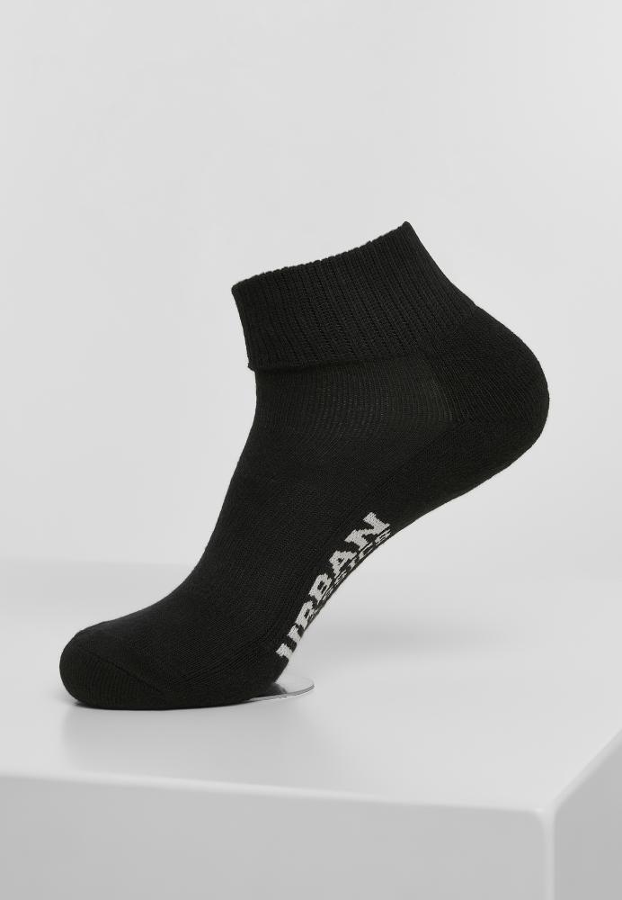 Mergi la Set de 6 Sneaker Sosete High negru Urban Classics