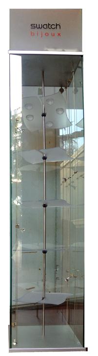 Swatch Bijoux Window - H 210mt - Base 40x40 Cm