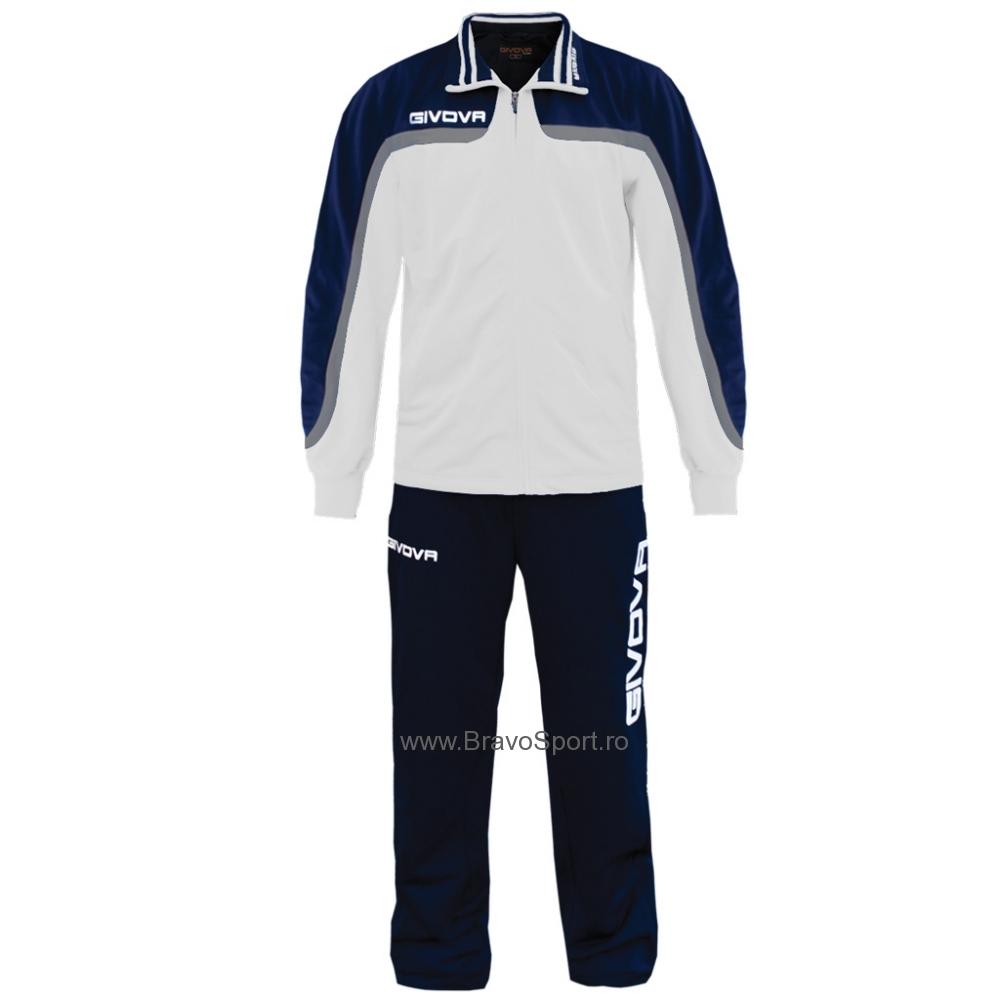 Trening sport TUTA EUROPA Givova alb albastru
