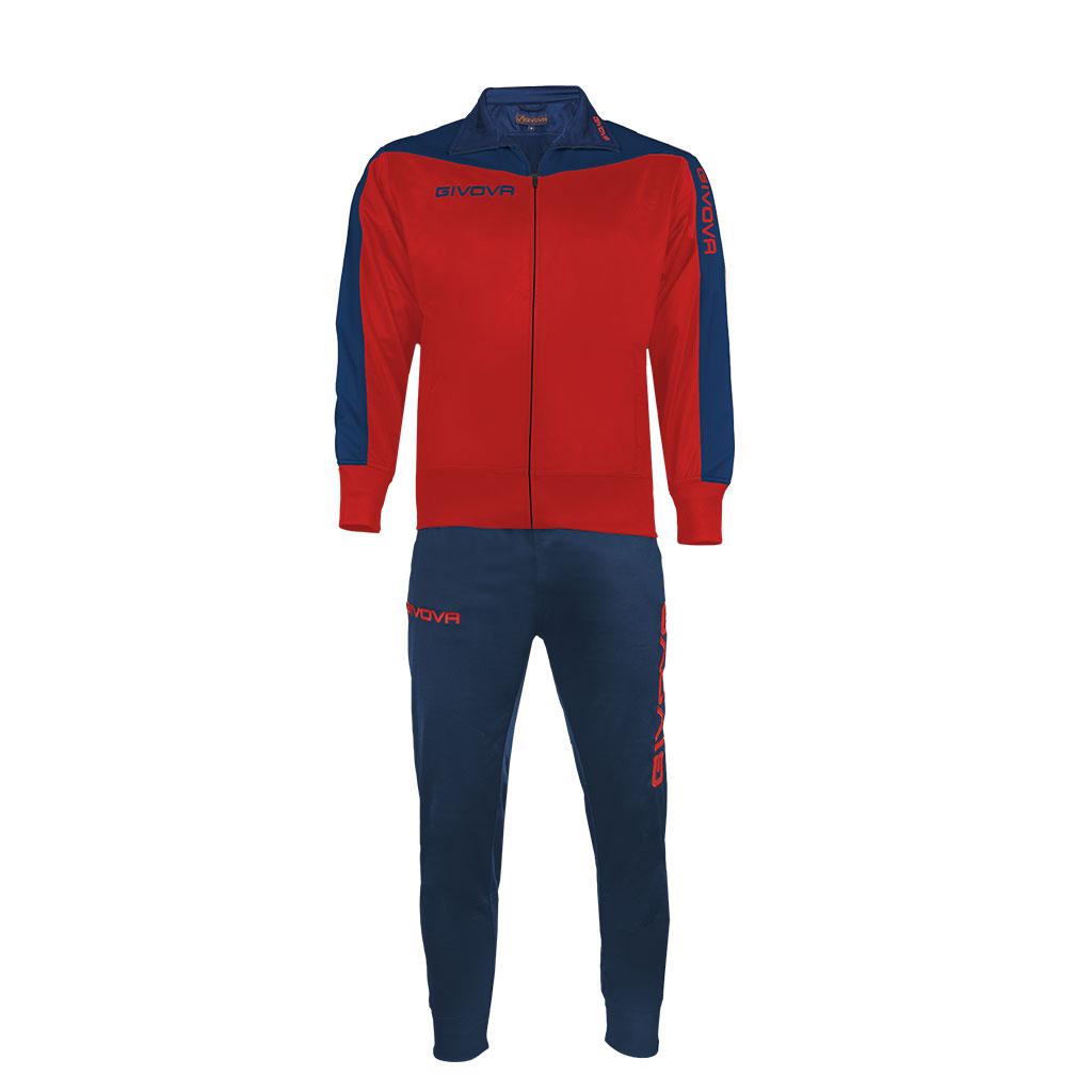 Mergi la Trening sport TUTA ROMA Givova rosu albastru