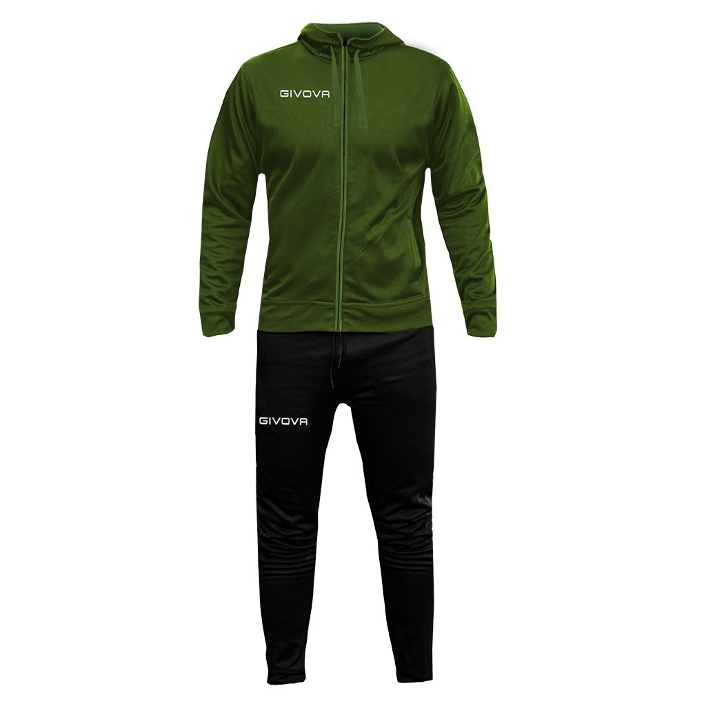 Mergi la Trening sport TUTA SORRENTO Givova verde military negru