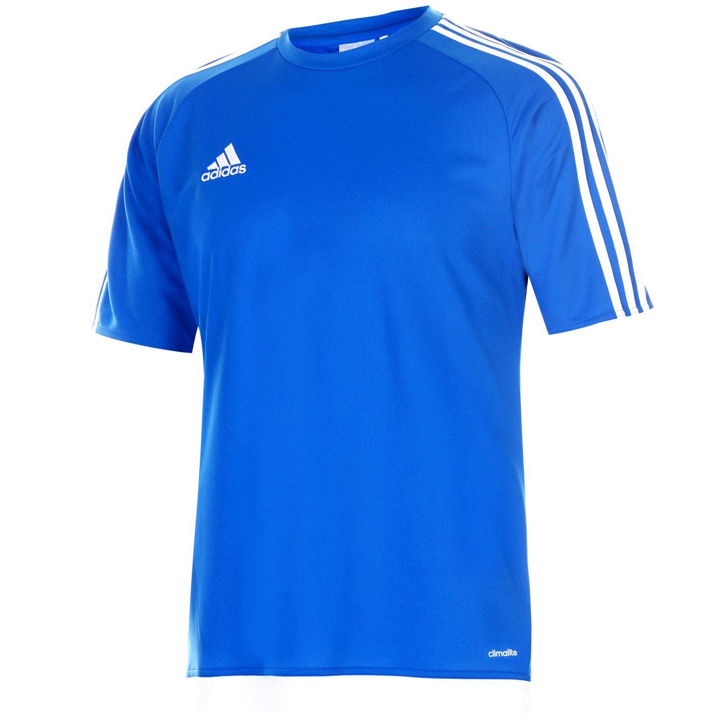 Tricou adidas clasic 3 cu dungi Sereno pentru Barbati albastru roial alb