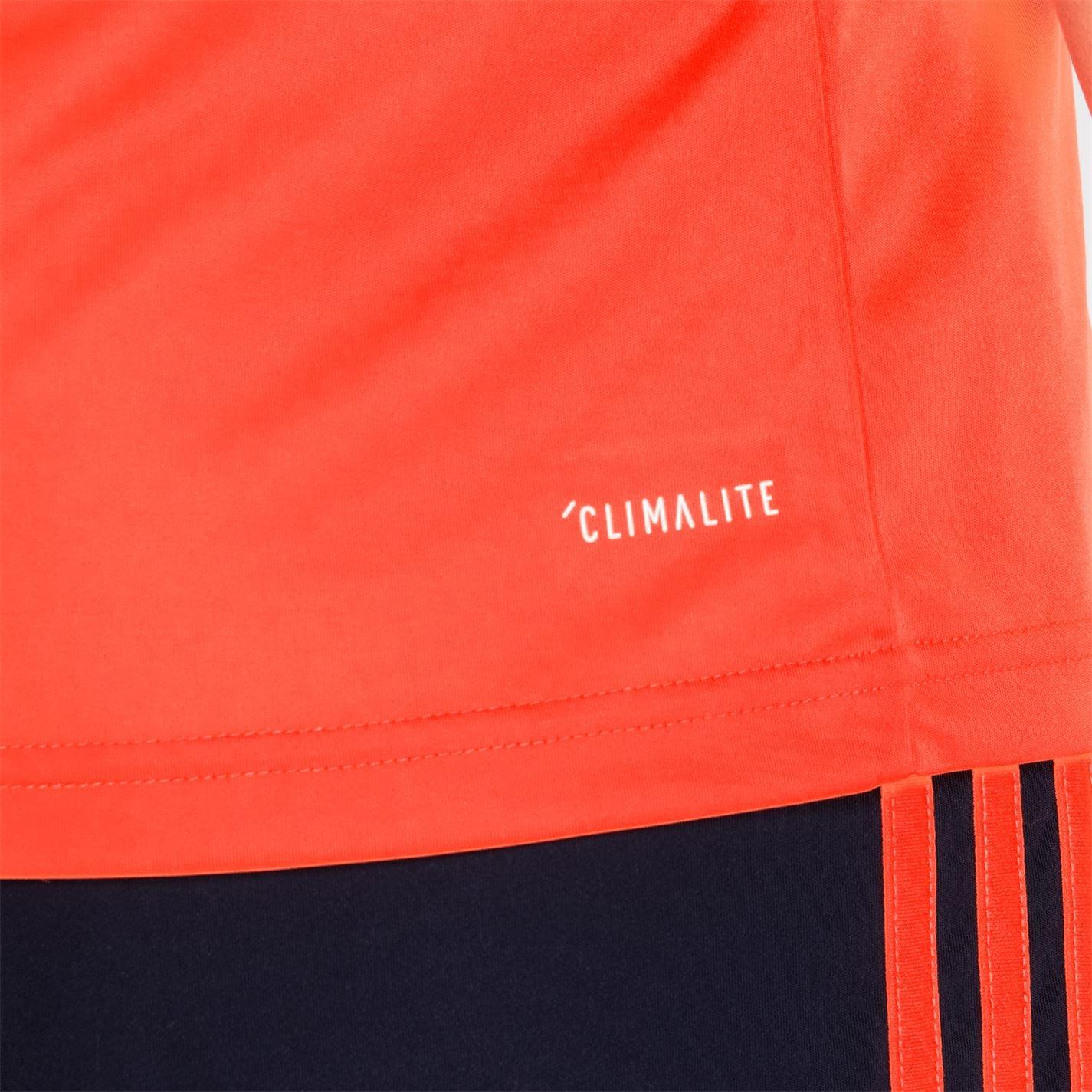 Tricou adidas clasic 3 cu dungi Sereno pentru Barbati portocaliu bleumarin