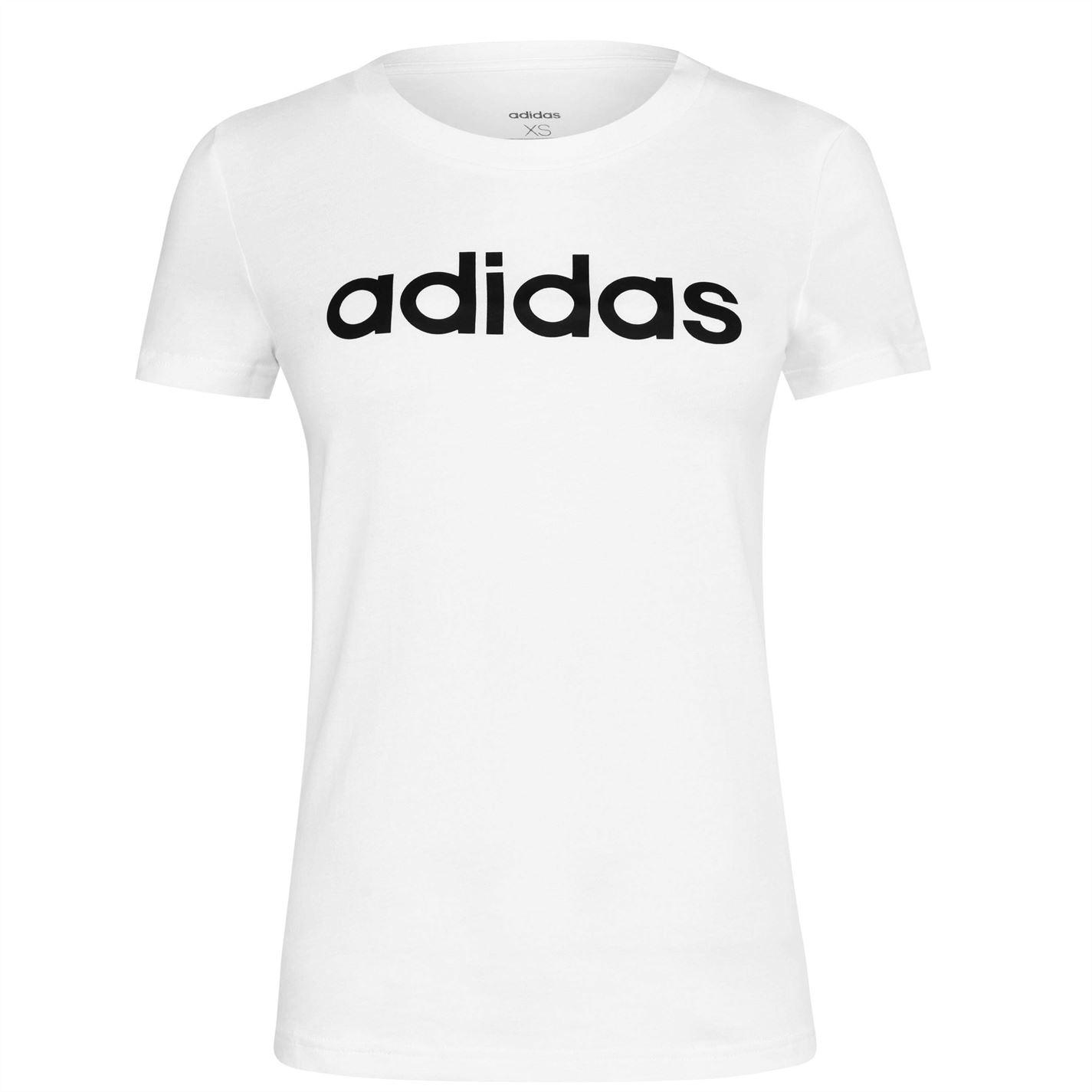 Mergi la Tricou adidas Essential Linea alb