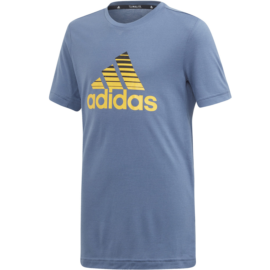 Mergi la Tricou Adidas YB TR Prime Tee albastru ED5751 pentru Copii
