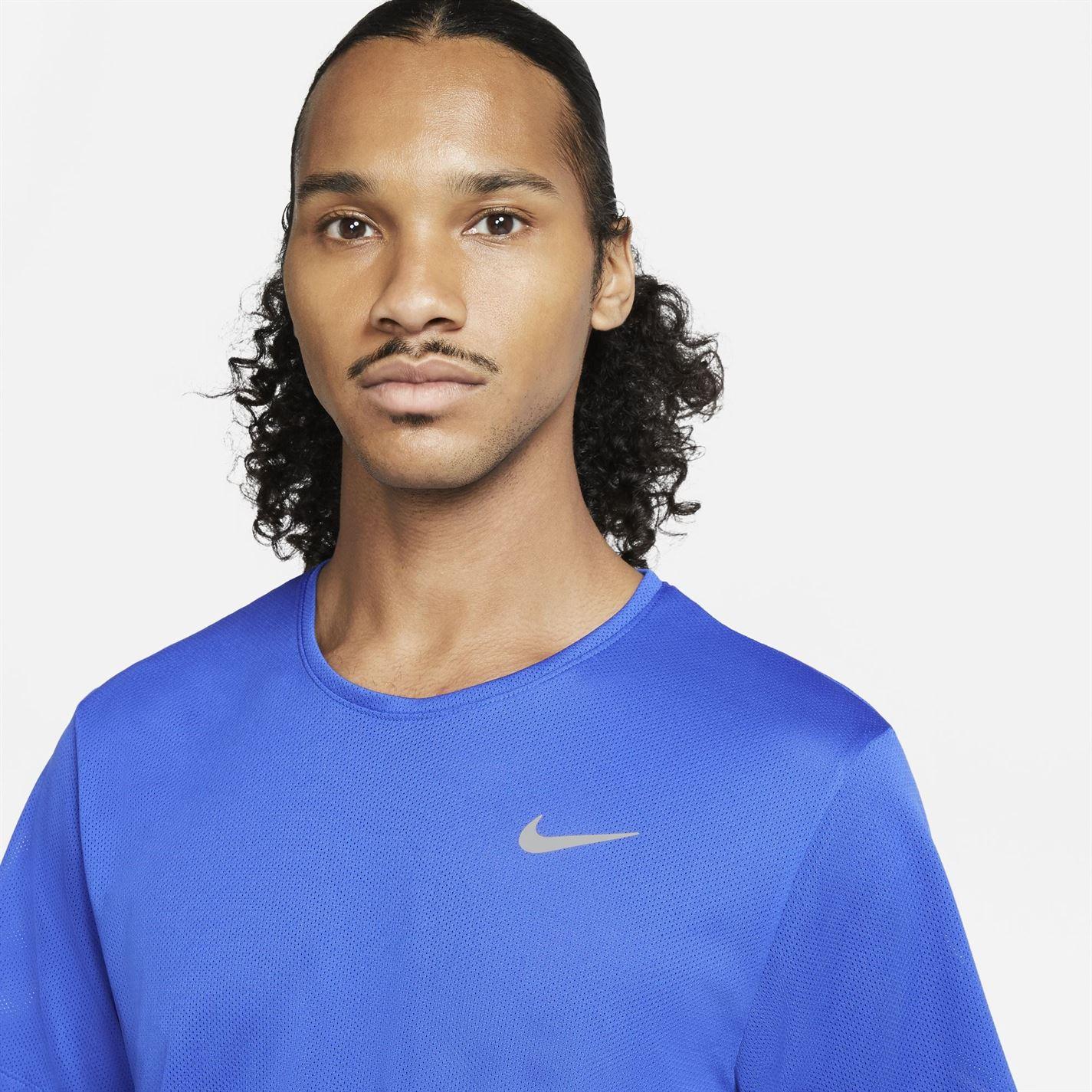 Tricou Nike Run Breathe pentru Barbati albastru roial bleumarin