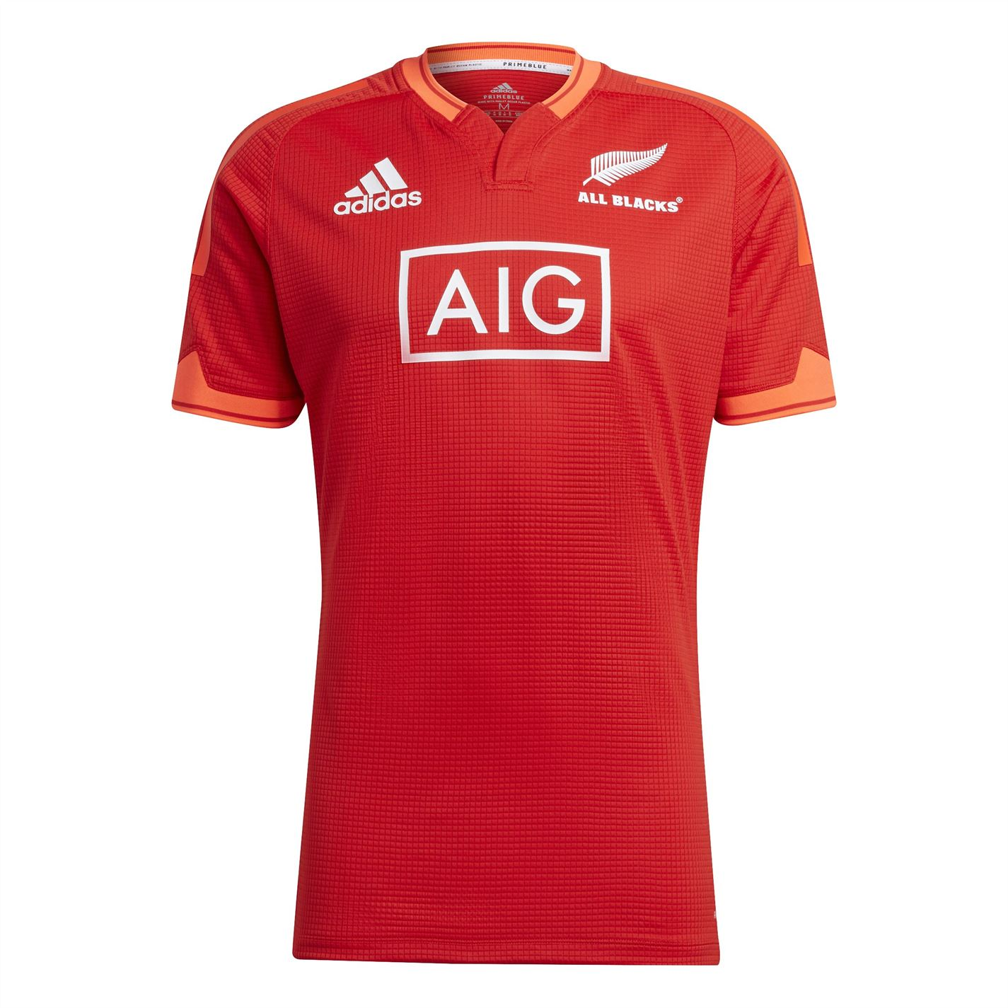 Tricou antrenement adidas New Zealand Rugby All Blacks pentru Barbati rosu apsord alb