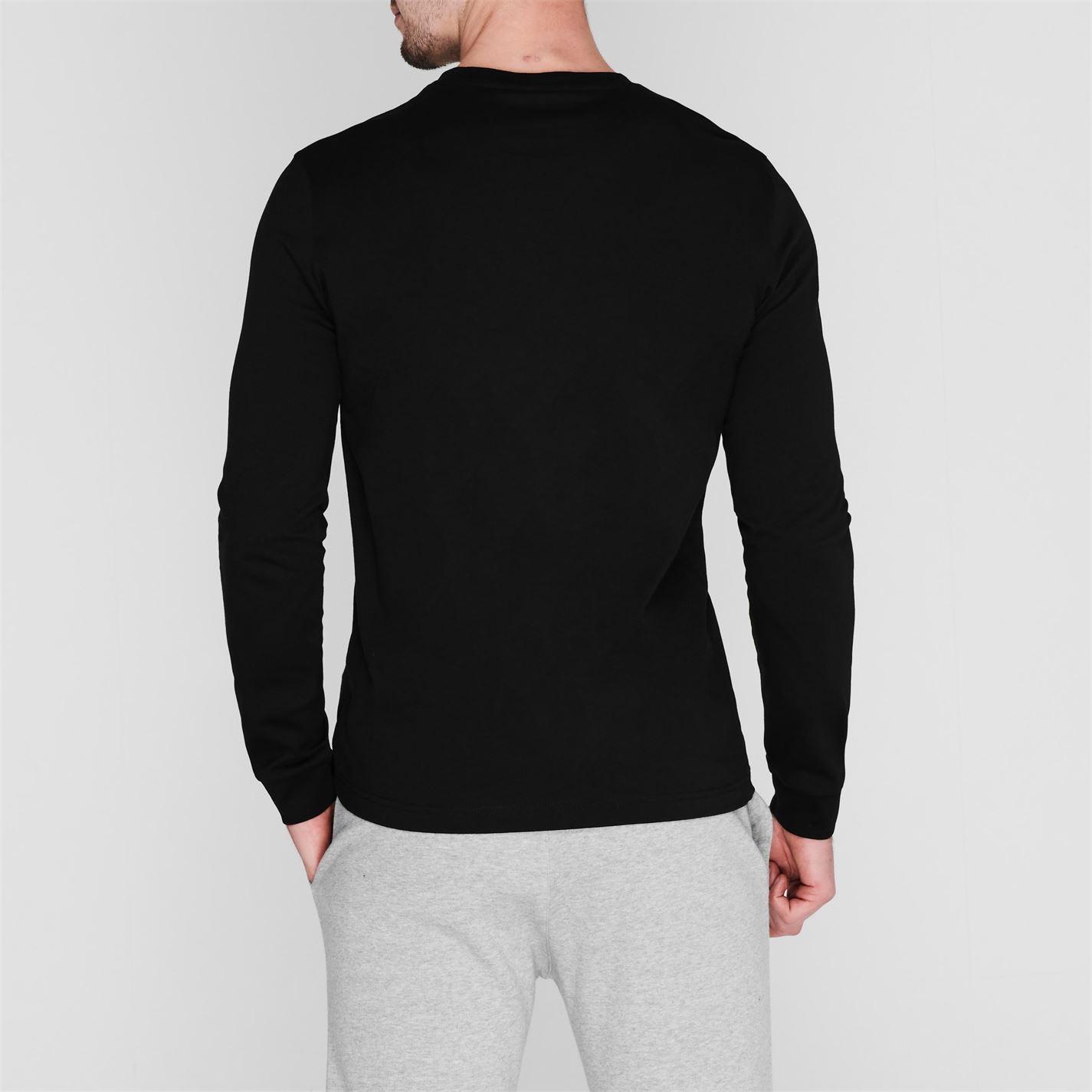 Tricou cu imprimeu Champion Chest negru kk001