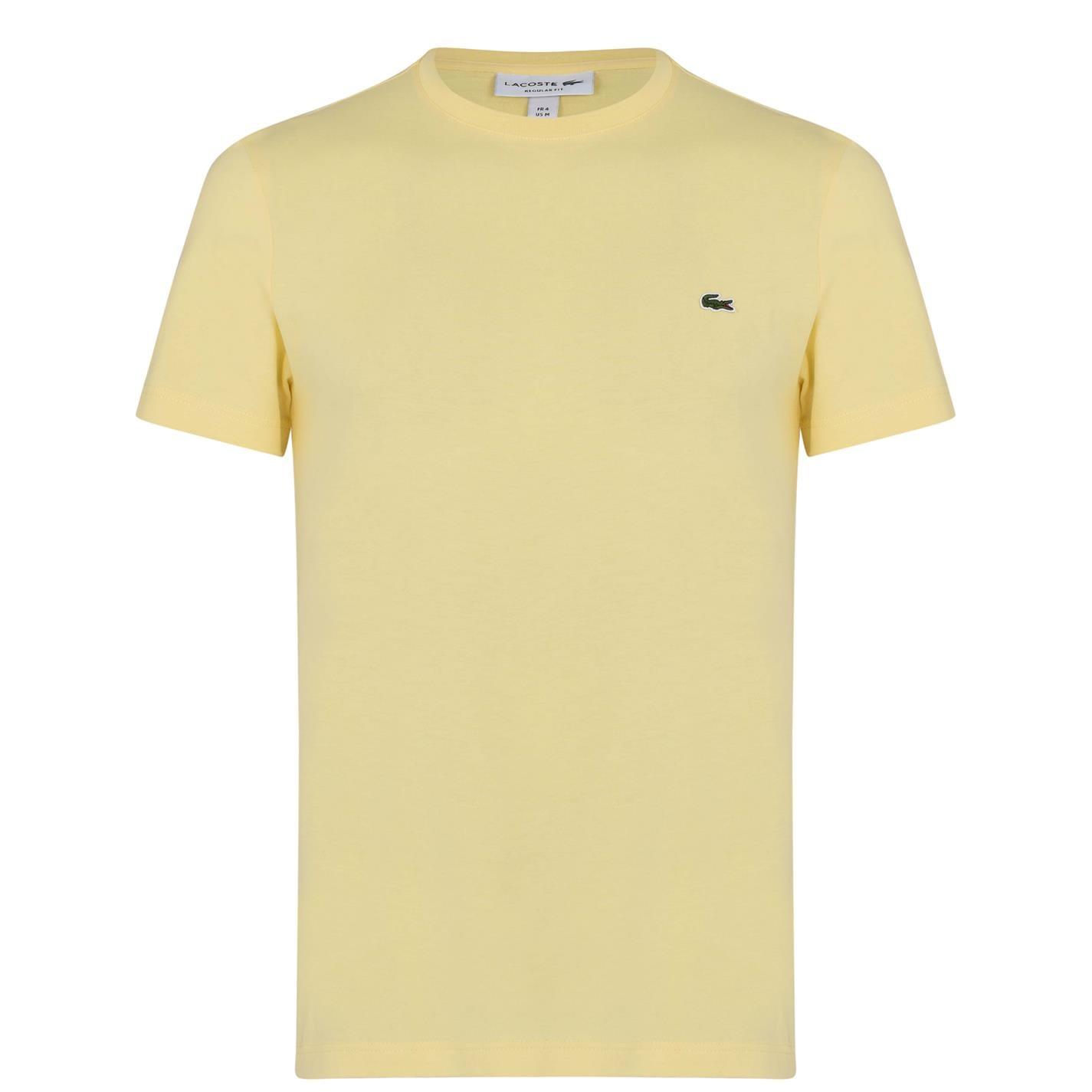 Mergi la Tricou cu imprimeu Lacoste galben wwj