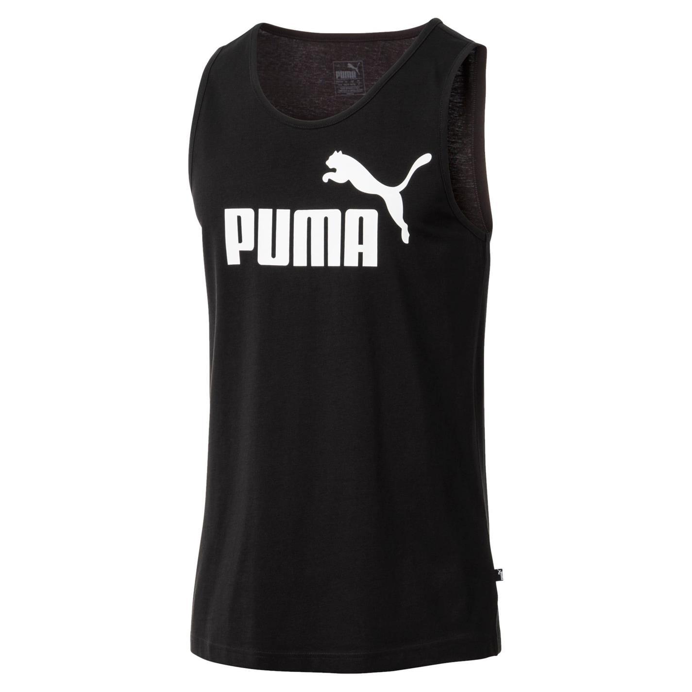 Mergi la Tricou fara Maneci Puma 1 pentru Barbati negru alb