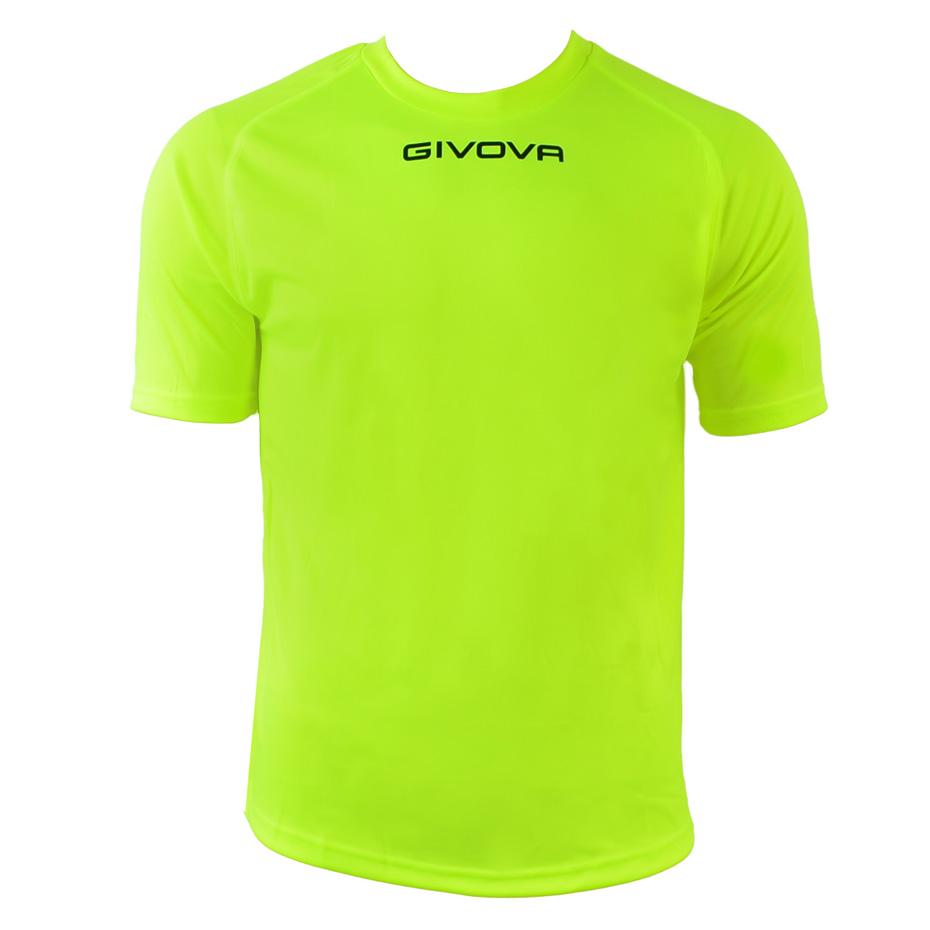 Tricou Givova One galben fluo MAC01-0019 barbati
