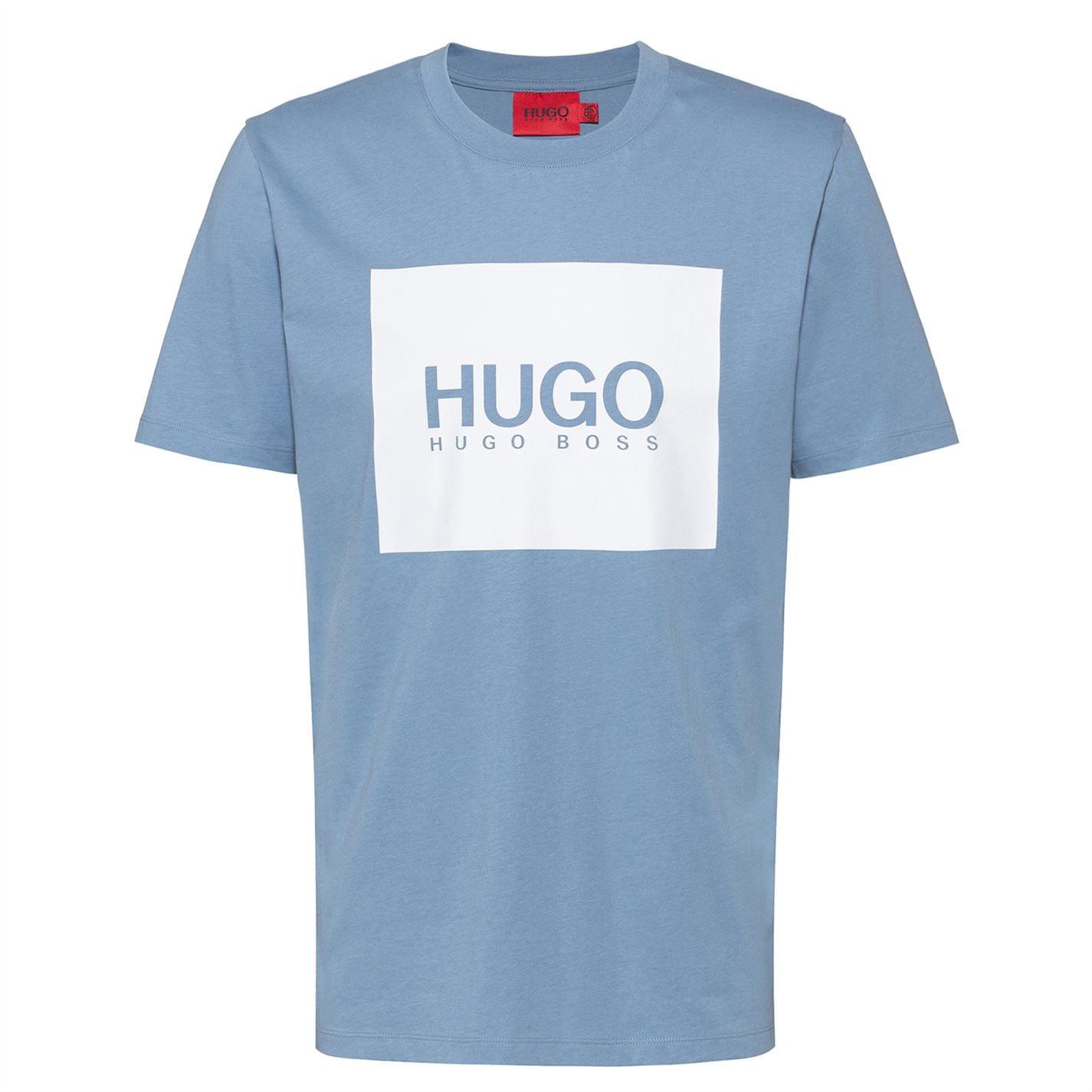Mergi la Tricou Hugo Dolive U212 medium albastru