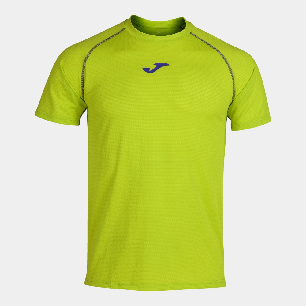 Tricou Joma Almanzor Lime-albastru cu maneca scurta verde
