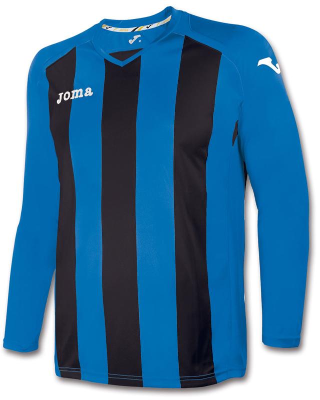 Tricou Joma Pisa 12 Royal-negru cu maneca lunga