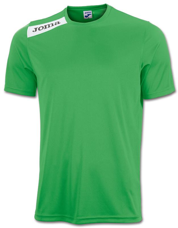 Tricou Joma Victory verde cu maneca scurta