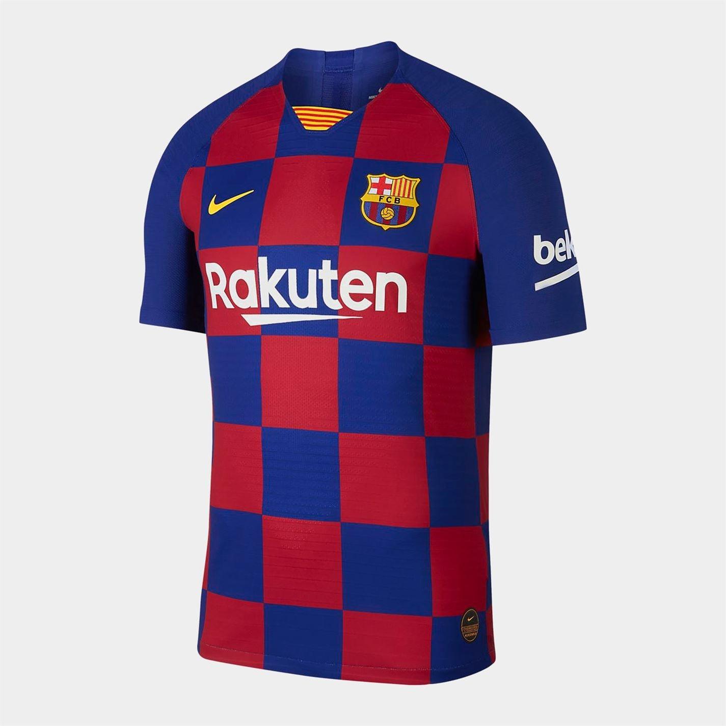 Mergi la Tricou Acasa Nike FC Barcelona 2019/20 Vapor Match pentru Barbati deep albastru roial