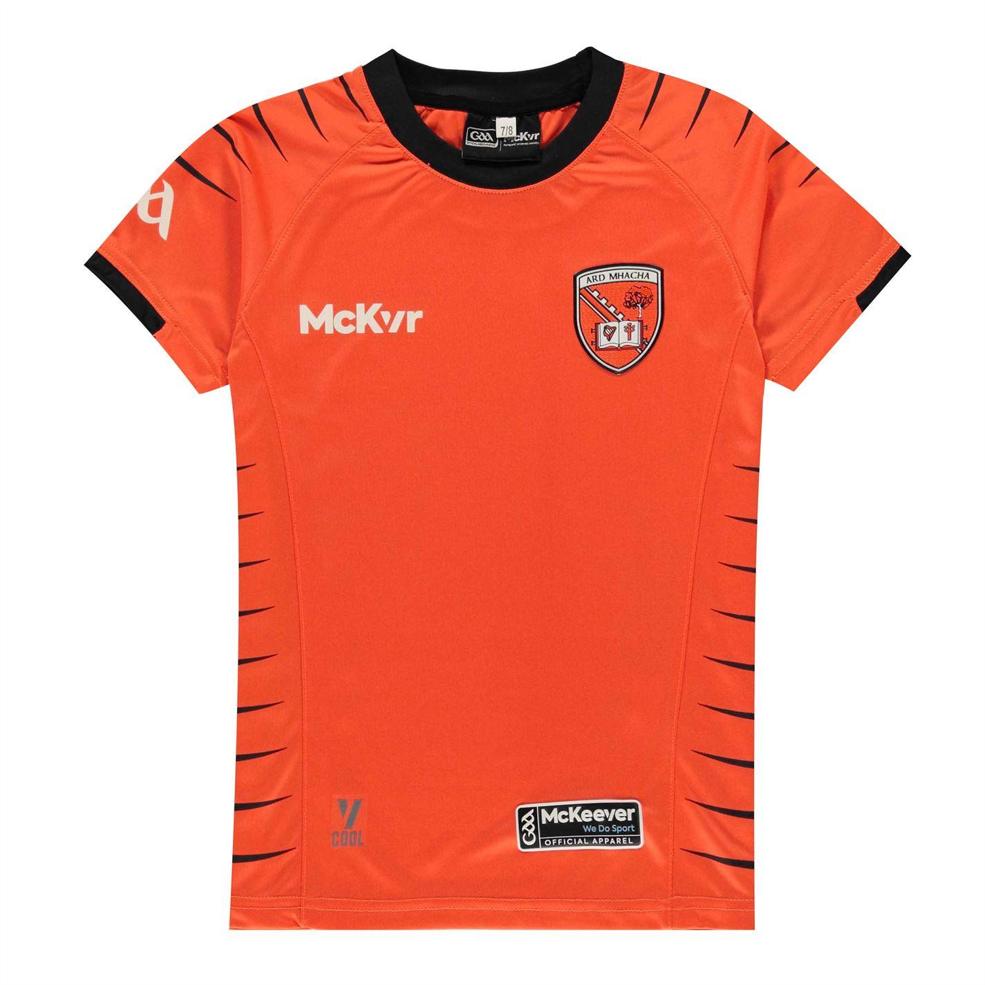 Mergi la Tricou Mc Keever Keever Armagh pentru copii portocaliu