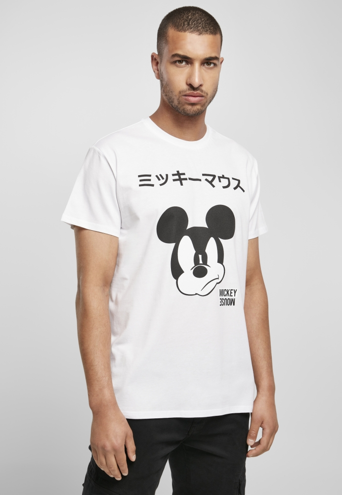 Mergi la Tricou Mickey Japanese alb Merchcode