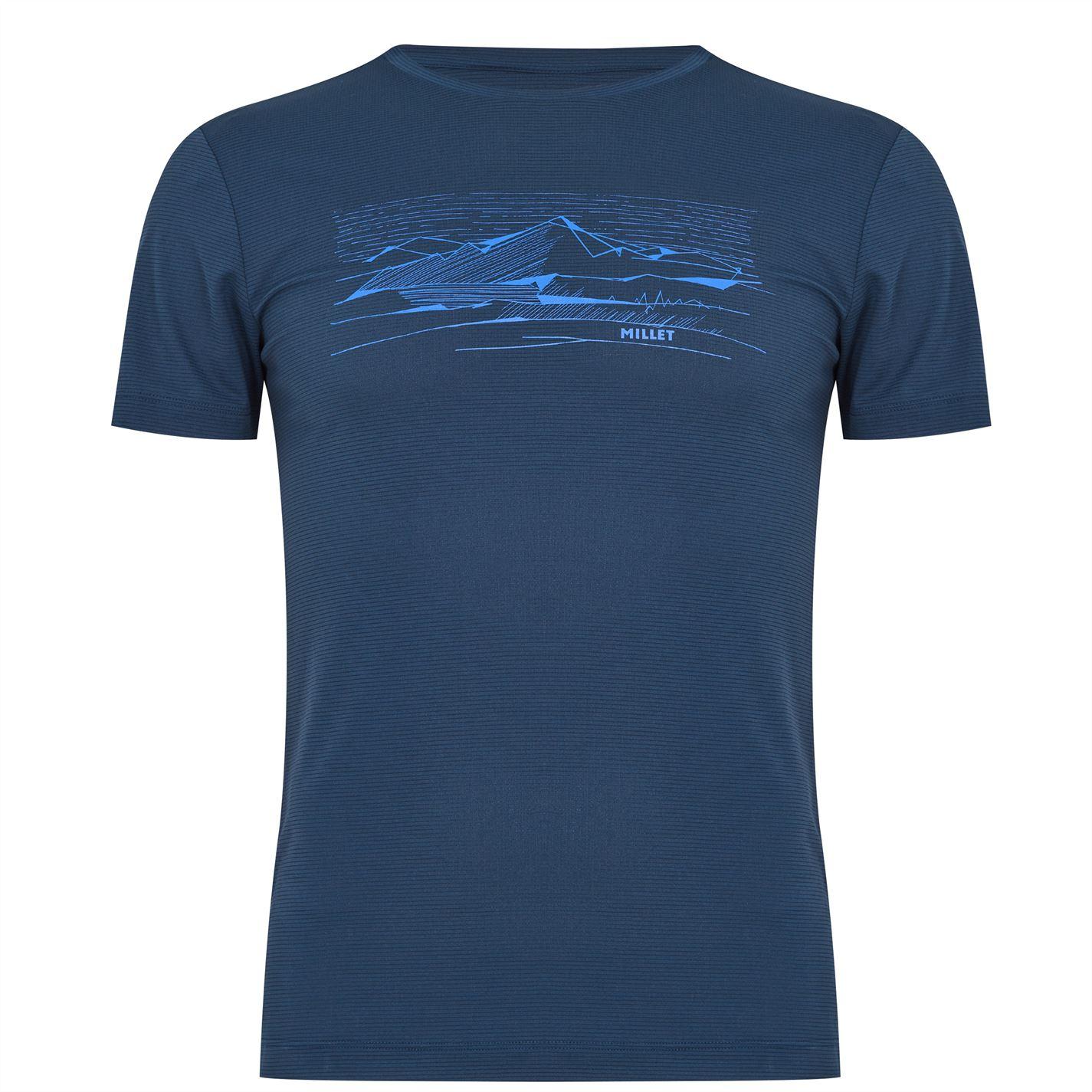 Tricou Millet Saguaro albastru