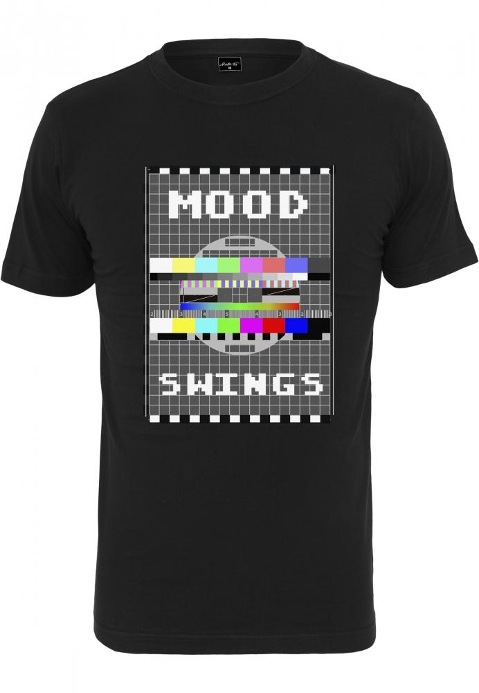 Mergi la Tricou Mood Swings negru Mister Tee