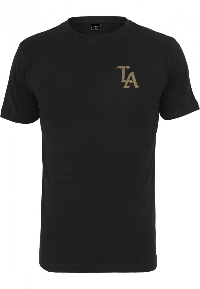 Mergi la Tricou negru simplu LA negru-auriu Mister Tee