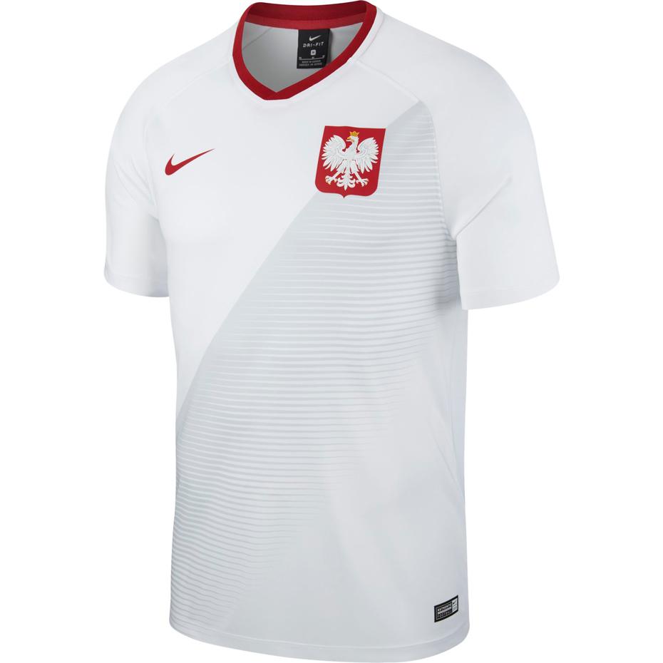 Mergi la Tricou Nike Polonia M NK BRT FTBL Top SS HM 893891 100 barbati