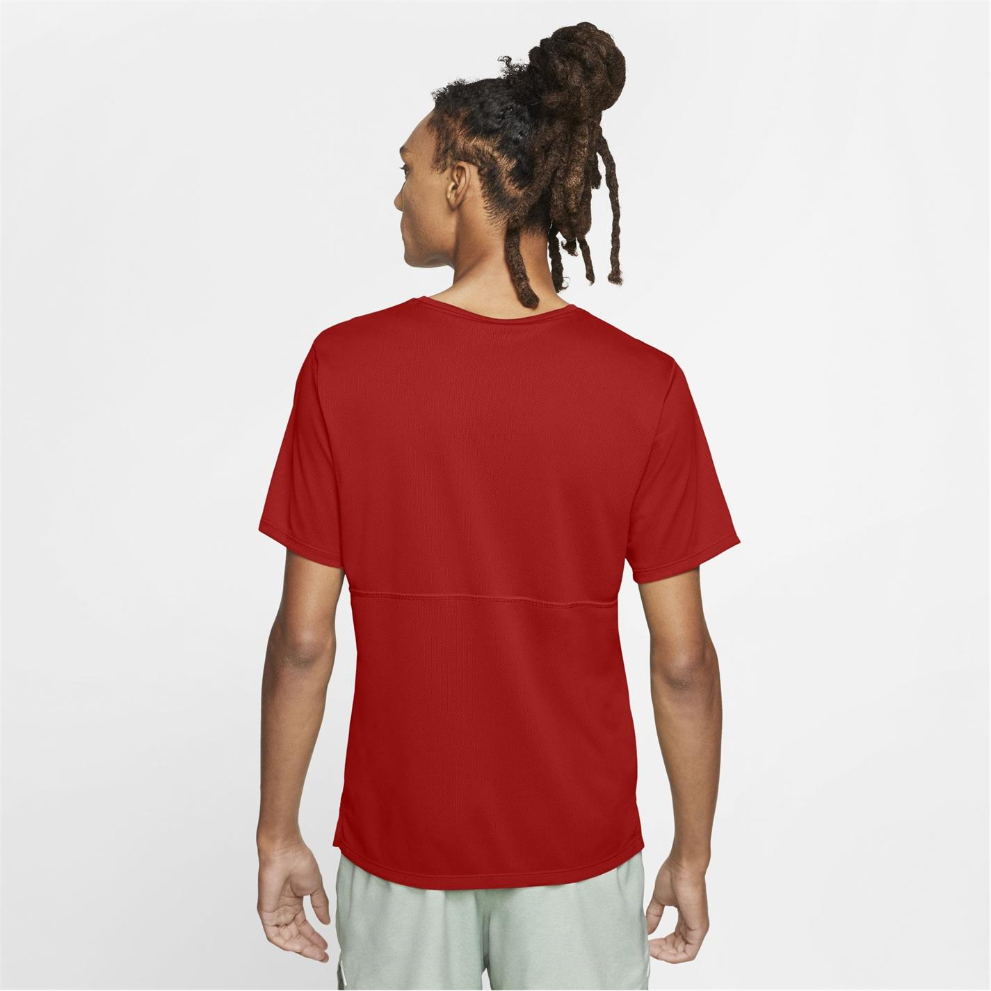 Tricou Nike Run Breathe pentru Barbati university rosu