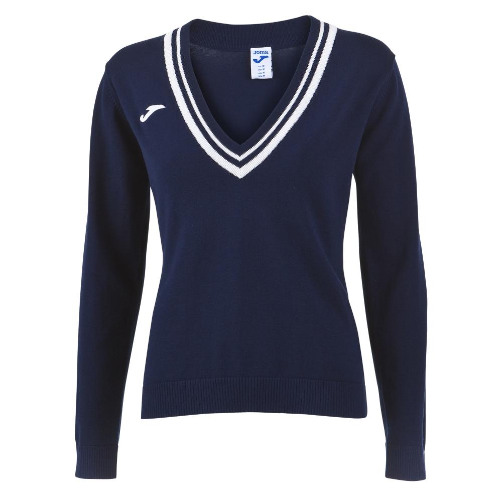 Mergi la Tricou Polo Tenis 80 Joma cu maneca lunga bleumarin pentru Femei
