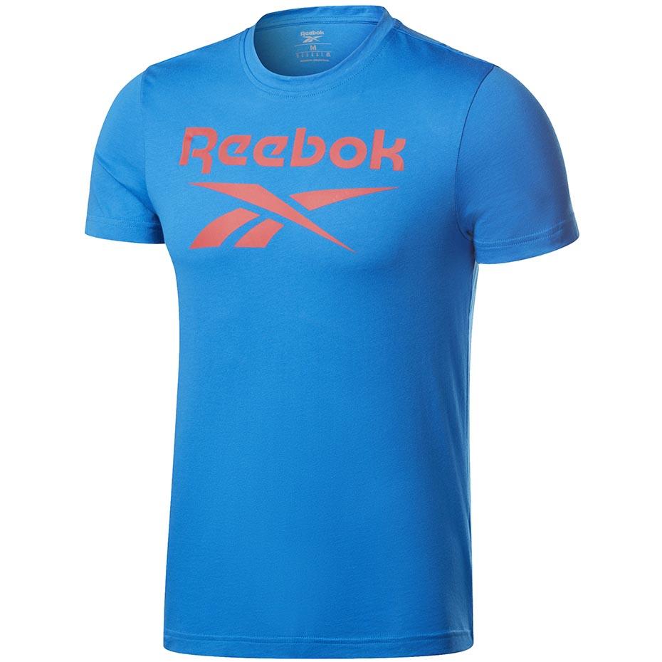 Mergi la Tricou Reebok imprimeu Graphic Series Reebok Stacked albastru FP9149 pentru Barbati