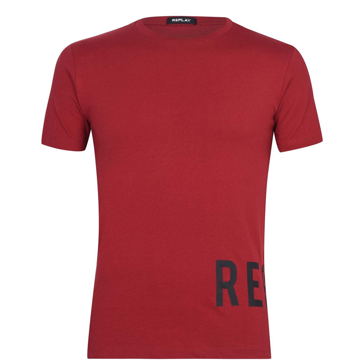 Mergi la Tricou Replay Rep inchis rosu