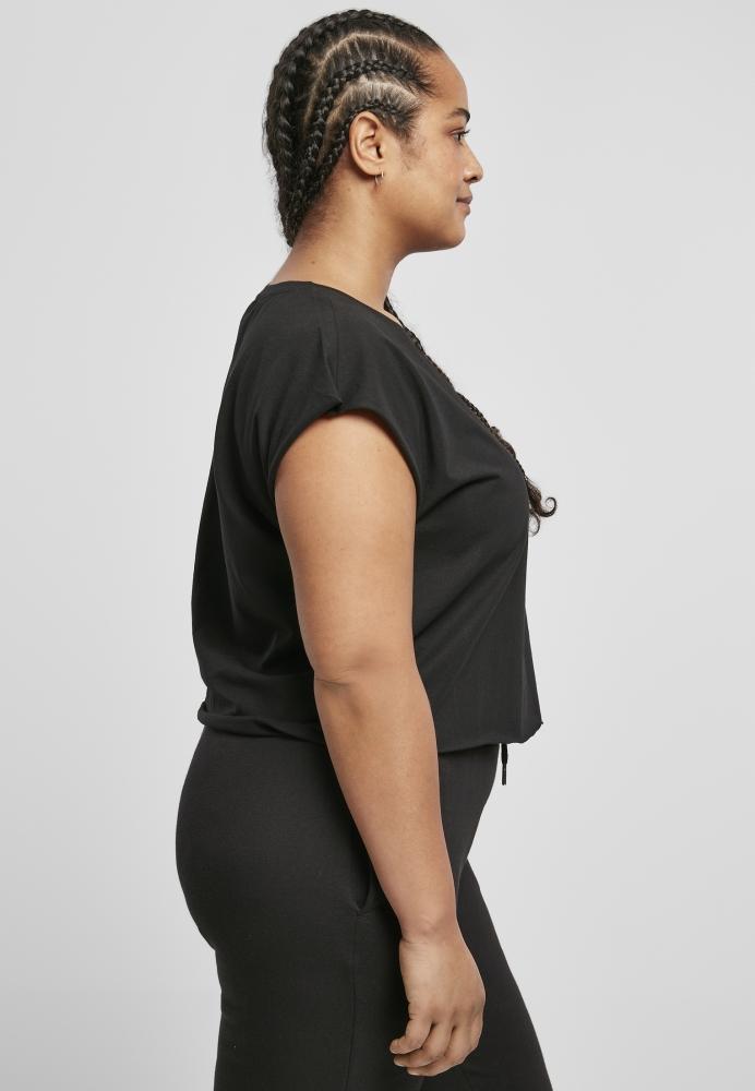 Tricou scurt Organic pentru Femei negru Urban Classics