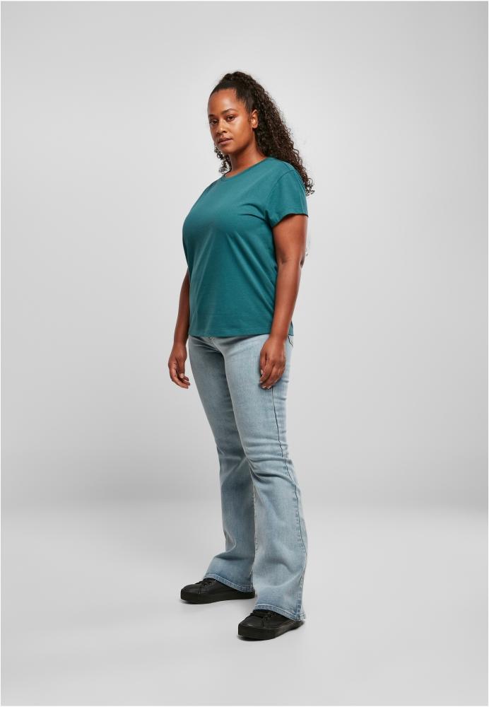 Tricou simplu lejer pentru Femei bleu Urban Classics