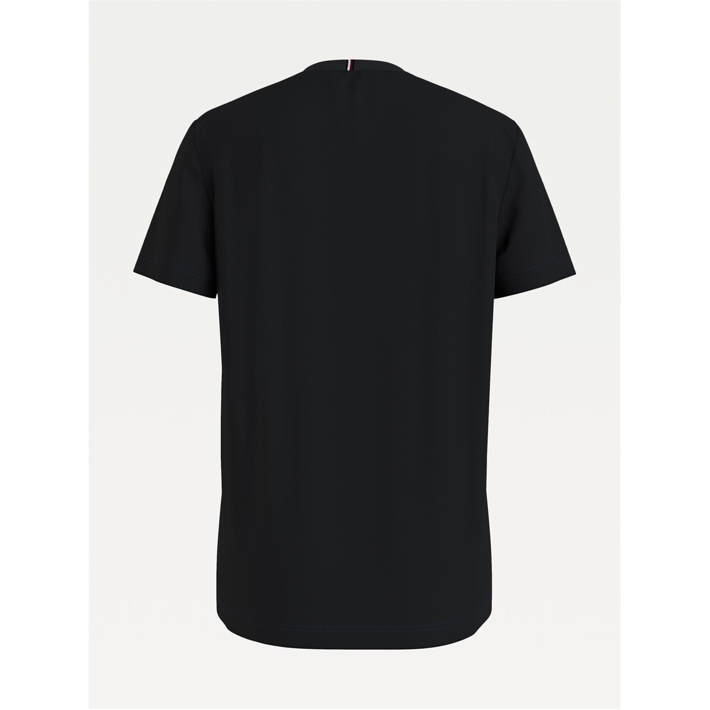 Tricou Tommy Hilfiger Essential negru bds