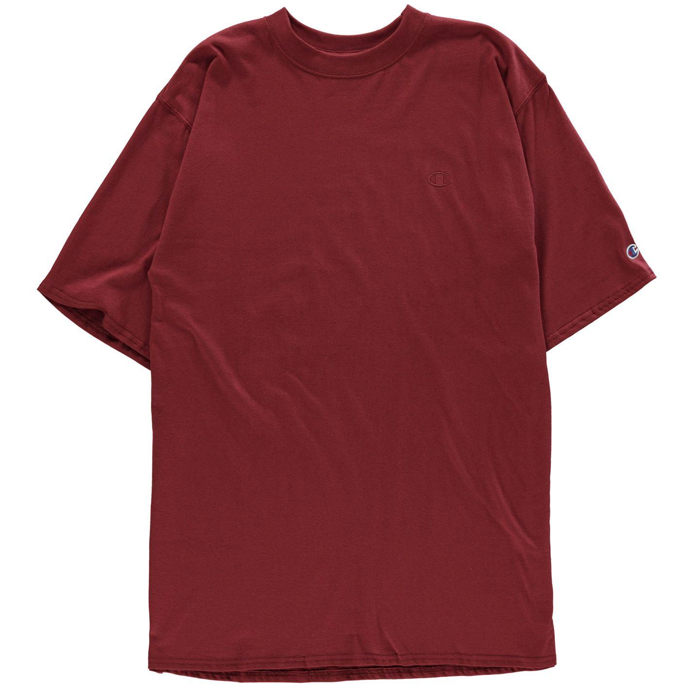 Tricouri Champion Jersey maro inchis