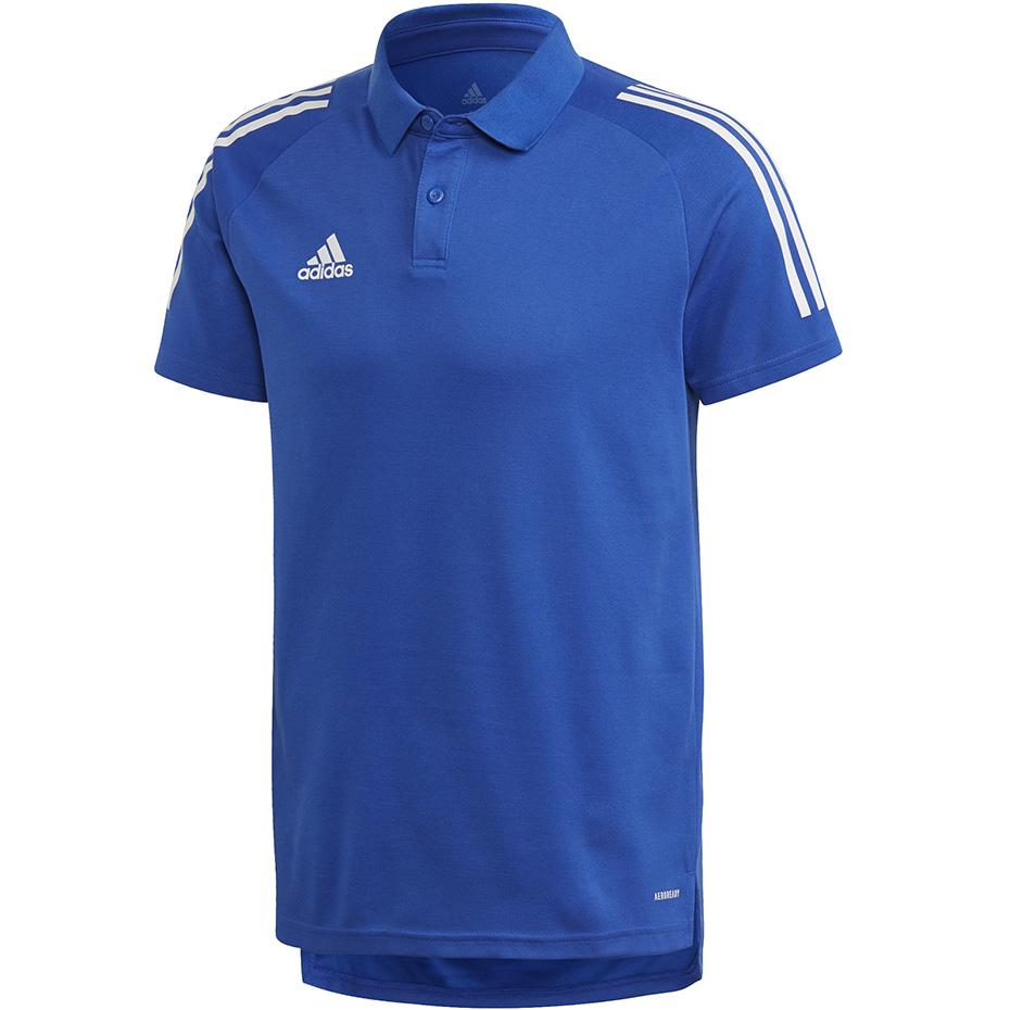 Mergi la Tricouri Polo barbati Adidas Adidas Condivo 20 albastru-alb ED9237