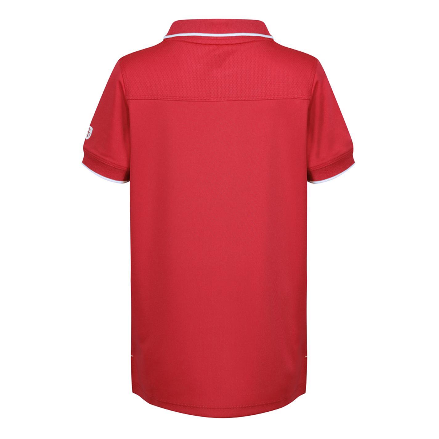 Tricouri Polo Island verde Golf pentru copii rosu