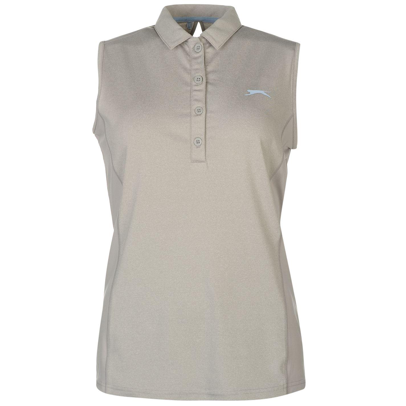 Tricouri Polo Slazenger fara maneci Golf pentru Femei