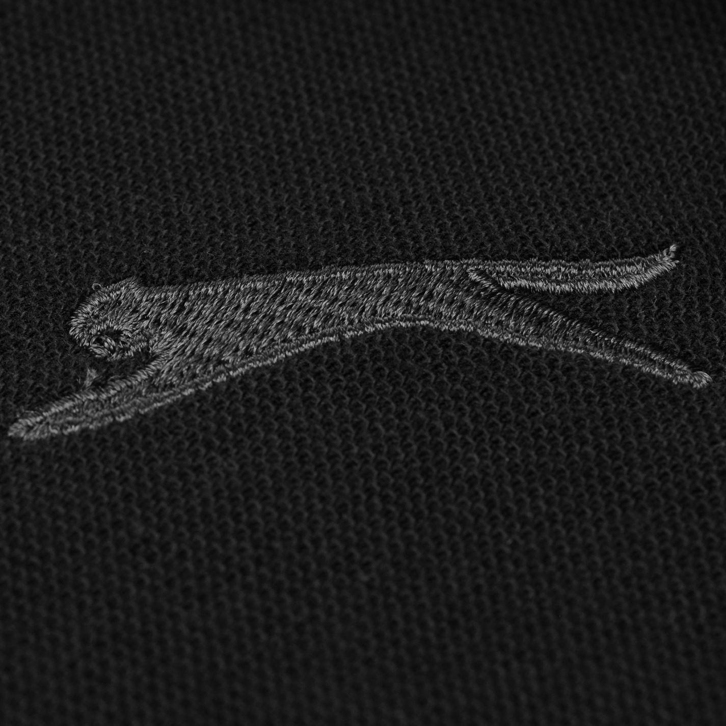 Tricouri Polo Slazenger Tipped pentru Barbati negru