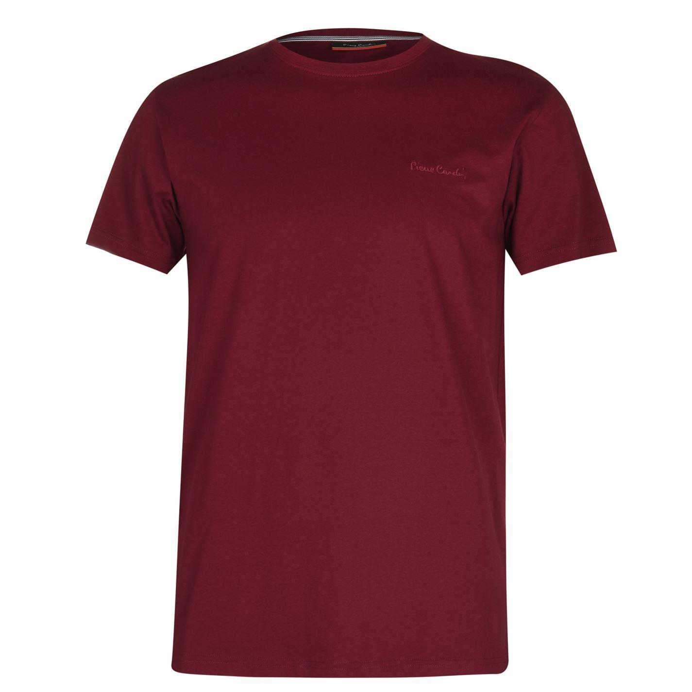 Mergi la Tricouri simple sport Pierre Cardin pentru Barbati roz inchis