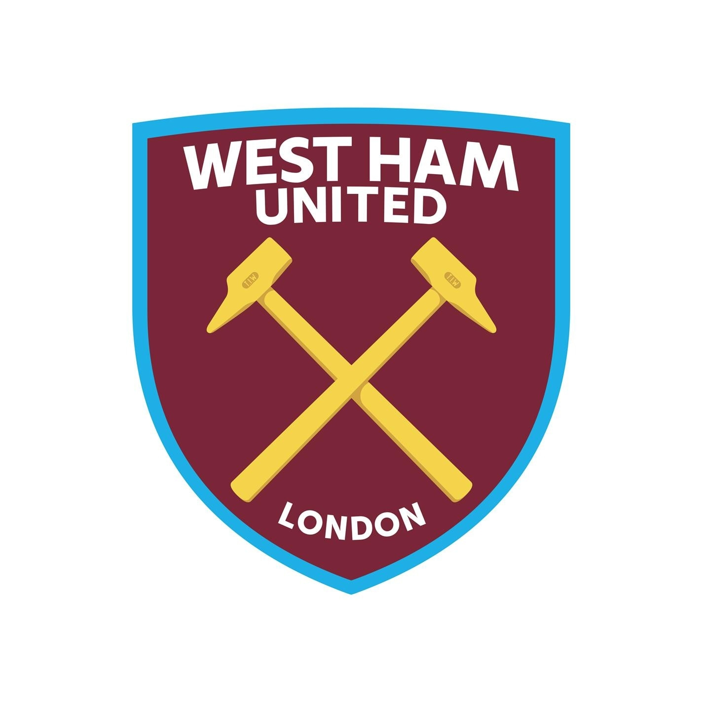 Umbro West Ham United Away Kit 2021 2022 pentru Bebelusi albastru alb