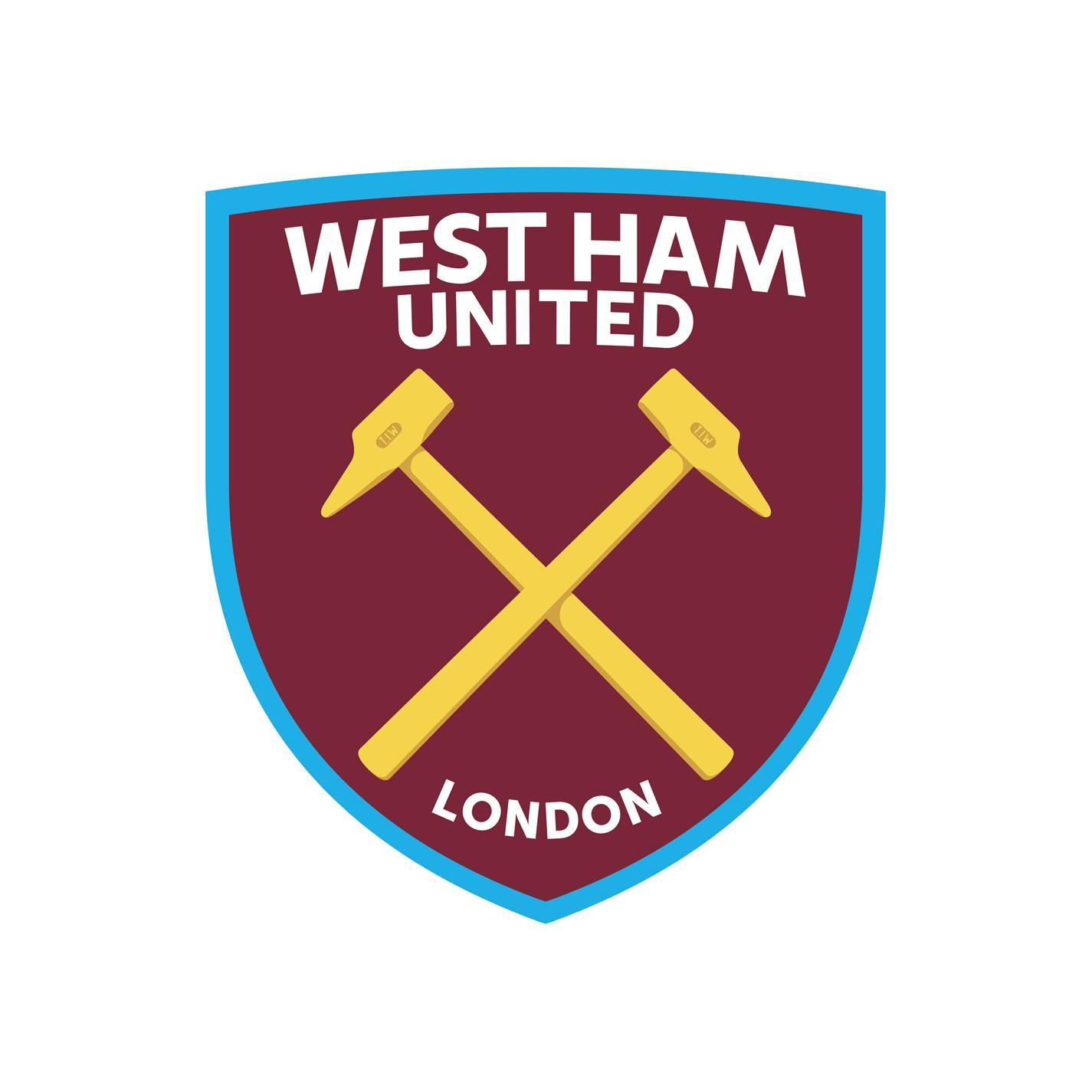 Umbro West Ham United Mini Away Kit 2021 2022 albastru alb