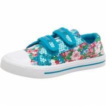 Board Angels Infant Floral/Sequin Pumps albastru pentru fetite