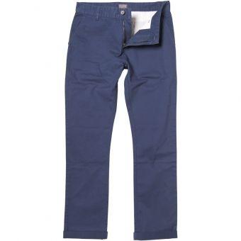 Pantaloni Chinos Fluid Slim Fit Dark Denim pentru barbati