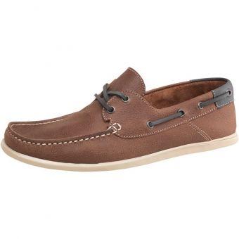 Pantofi barca Onfire maro pentru barbati